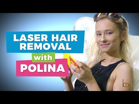 I'm Permanently Removing My Underarm Hair With Laser Hair Removal | Polina Gourin | Body Details
