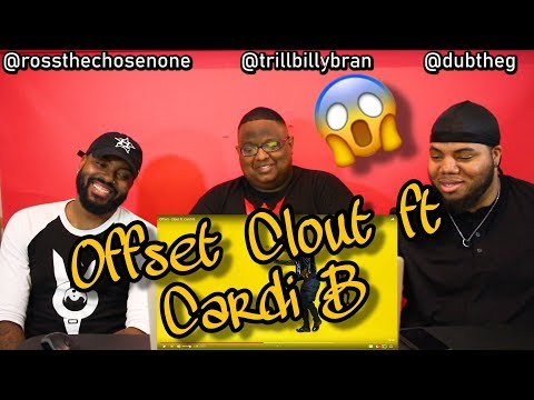 Offset - Clout Ft. Cardi B (MUSIC REACTION) 😱