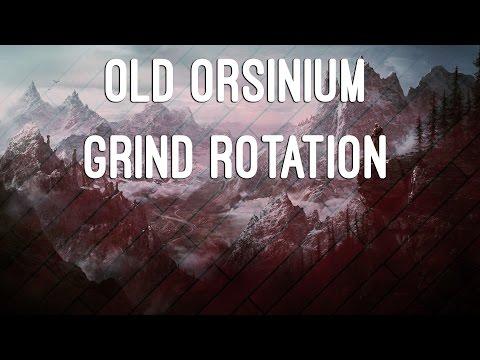 Old Orsinium Grind Rotation