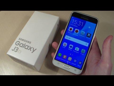 Обзор Samsung Galaxy J3 2016 (J320H)