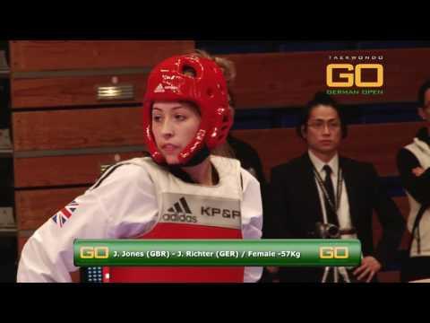 GO2016 Jade Jones vs J.Richter -57Kg (HD)