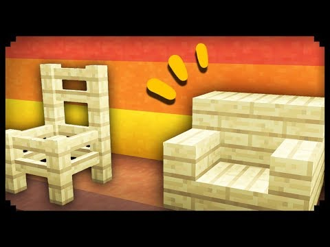 ✔ Minecraft: 50 Chair Design Ideas