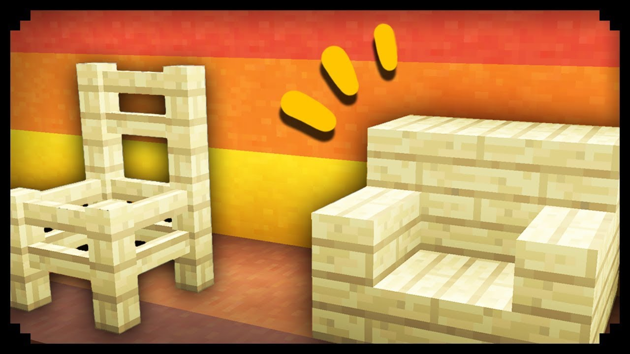 Minecraft: 50 Chair Design Ideas | Doovi