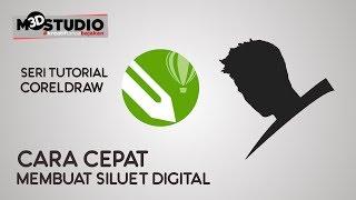 Video Cara cepat membuat siluet digital di Coreldraw download MP3, 3GP, MP4, WEBM, AVI, FLV Oktober 2018