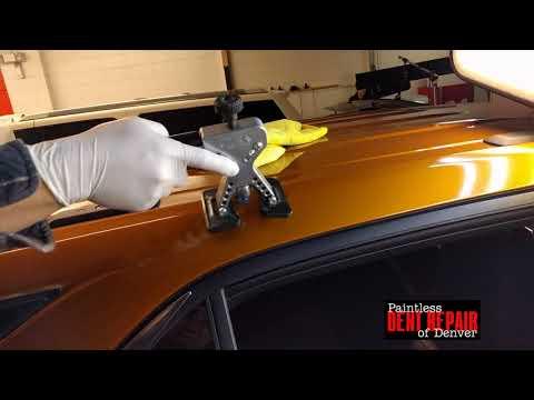 Repair Medium  Hail Damage on A Chevy Equinox 2017
