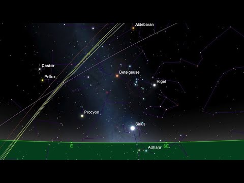 Geminids Meteor Showers Peak Wed. Dec 13th, 2017 at 9pm