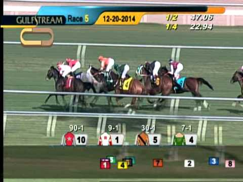 Gulfstream Park Race 5 / December 20, 2014