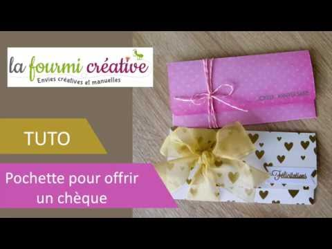 tuto pochette pour offrir un ch que youtube. Black Bedroom Furniture Sets. Home Design Ideas