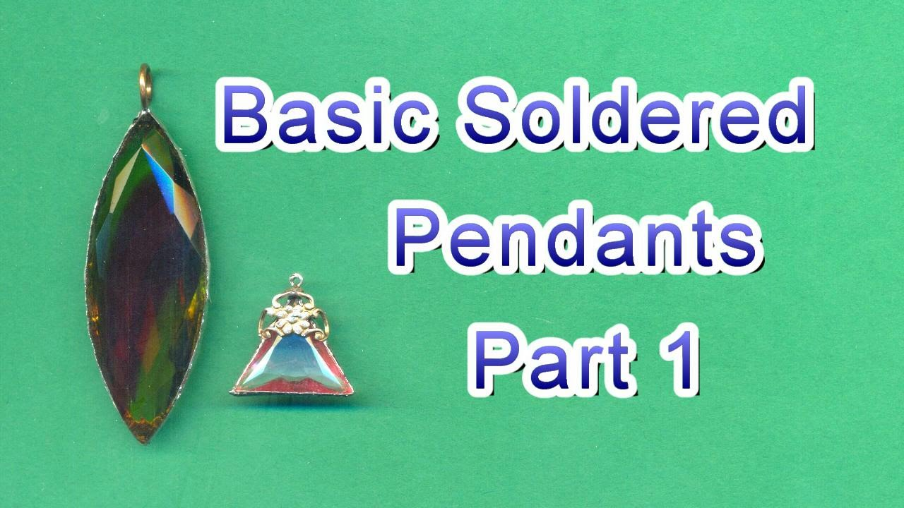 Basic soldered jewelry pendants part 1 youtube basic soldered jewelry pendants part 1 aloadofball Image collections
