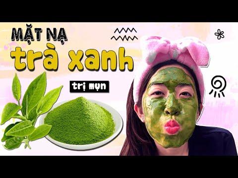Cách đắp mặt nạ trà xanh Matcha sữa chua trị mụn và thâm hiệu quả - NGHEBALAN.COM