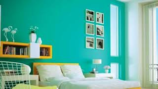 Colour Combination for Hall and Bedroom Ideas
