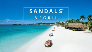 Sandals Negril Puts You Closer to The Water's Edge