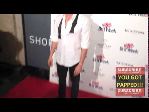 Adan Canto at the BritWeek's 10th Anniversary   Performance Of Murder, Lust And Madness at Wallis An