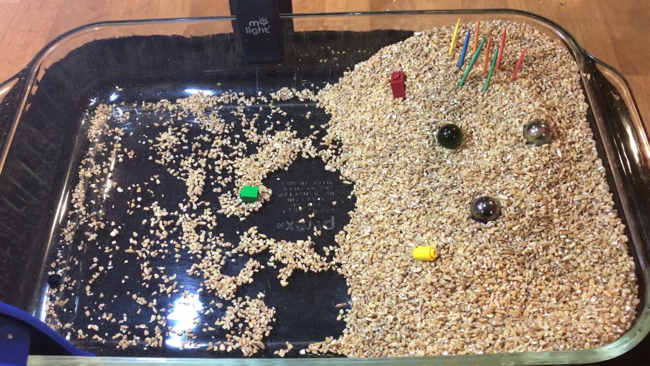 Wind Erosion and Deposition experiment - YouTube