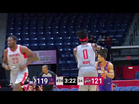 Briante Weber (25 points) Game Highlights vs. Northern Arizona Suns