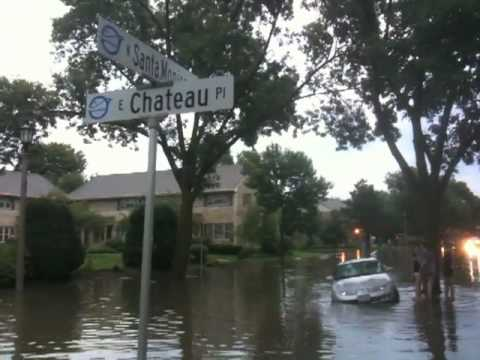 Flash Flooding In Whitefish Bay, WI