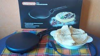 Жарим тонкие блинчики в погружной сковородке( DELIMANO UTILE)