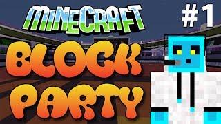Minecraft Minigame Block Party Bölüm 1 - Renk Körü Olduk