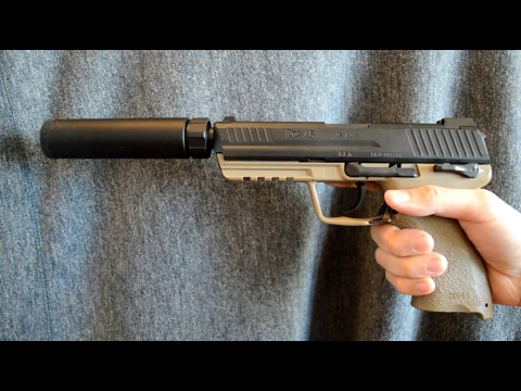 (Airsoft) Tokyo Marui HK45 Tactical