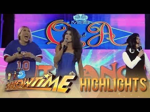 It's Showtime Miss Q & A: President Ganda turns up the heat with her answer