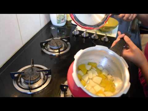 Homemade Baby Food Recipe: Pumpkin & Potato Mash For Babies(6-9 Months) No Salt/Weaning