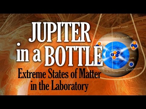 Public Lecture | Jupiter in a Bottle: Extreme States of Matter in the Laboratory
