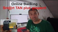 Online Banking: Smart TAN plus gesperrt