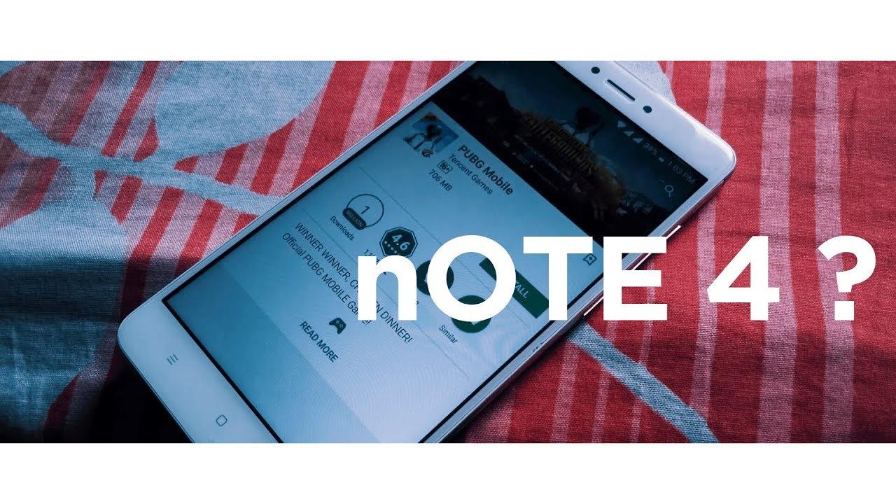 Pubg Hd Redmi Note 4: Pubg Mobile On Best Selling Mi Phone (Redmi Note 4) Custom