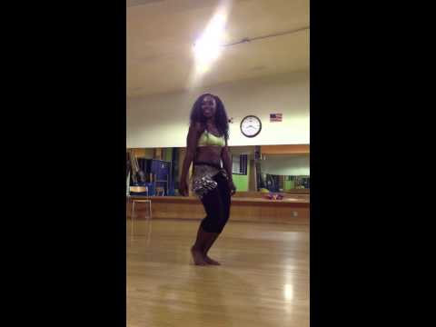 Victorious L'LAH (1- Woman Show) Belly Dance Rehearsals
