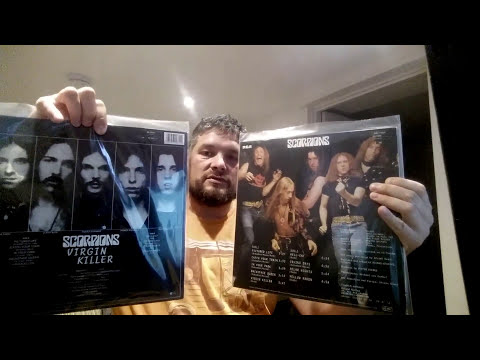 SCORPIONS: VINYL RECORD COLLECTION