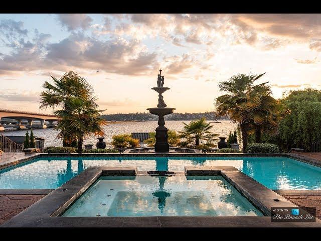Sensational $14 Million 9,000 SQ FT 8 Bed 5 Bath Home in Washington USA