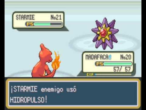 Guia de combates pokemon rojo fuego part 4 lider de for Gimnasio 8 pokemon rojo fuego