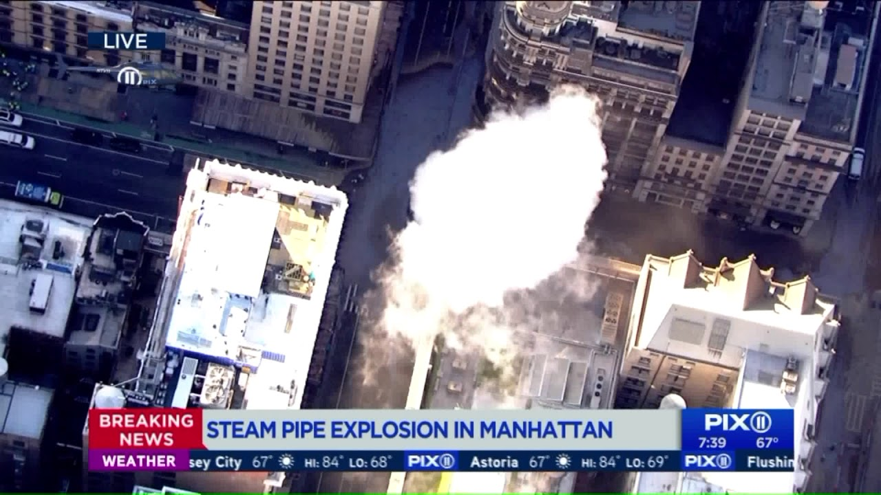 Steam pipe explosion: Subway, bus changes and street closures