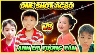 """[ FreeFire ] Bé Lâm Cushin Chạm Mặt Táo Thần Đồng Ly Baby One Shot AC80 """" Ai Sẽ Thắng """" ?"""