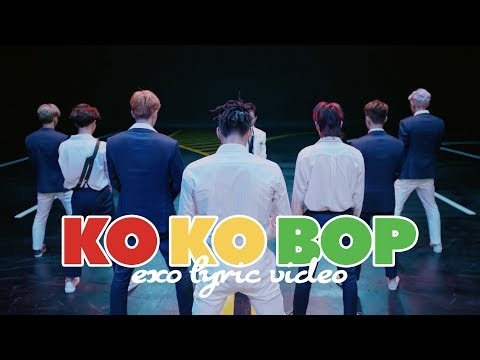 EXO - Ko Ko Bop [LYRIC VIDEO] [HAN|ROM|ENG]
