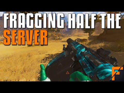 Fragging Over HALF The Server  Apex Legends