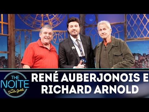 Entrevista com René Auberjonois e Richard Arnold  The Noite 150818