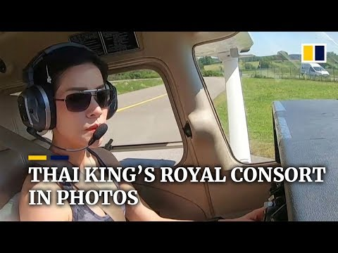 rare-images-of-thai-king's-royal-consort-cause-palace-website-to-crash
