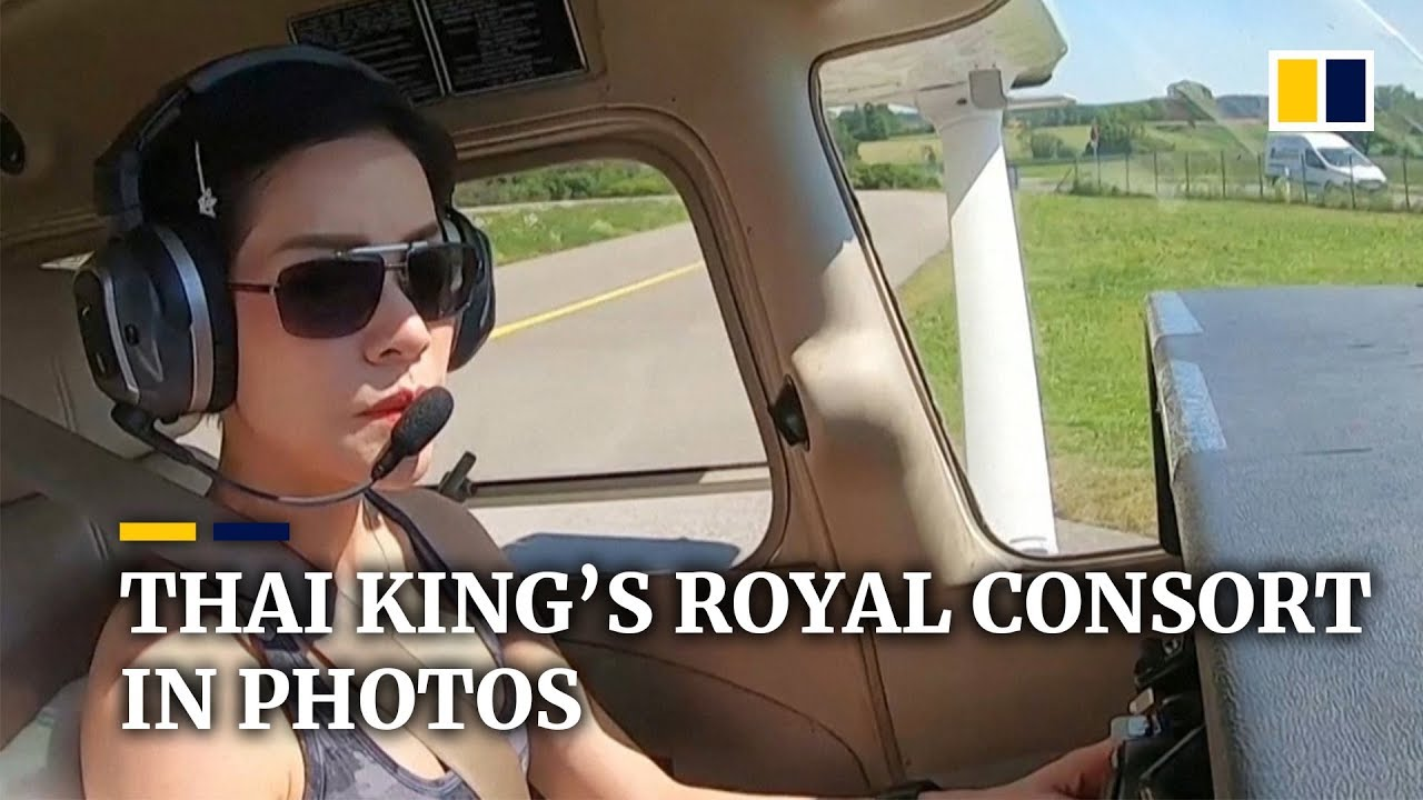 Download Rare images of Thai king's royal consort cause palace website to crash