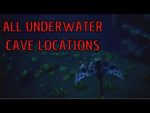 ARK: all underwater cave locations