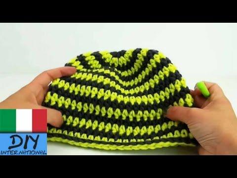 Uncinetto Tutorial Cappello Inverno Fatto In Fretta Crochet Italiano