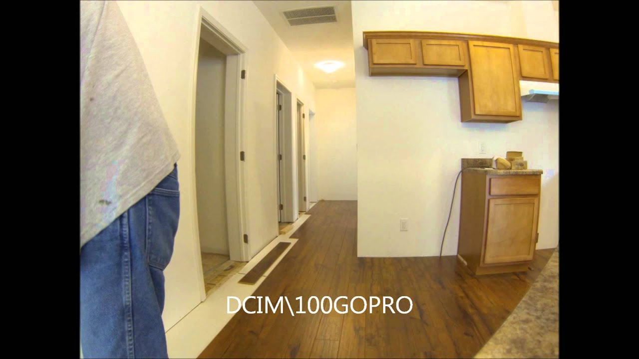 Flooring Installation Hallway