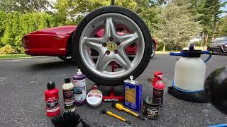 Ferrari F355 Concours Level Wheel Detailing   Auto Fanatic