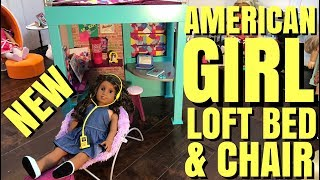 American Girl Gabriela's New Loft Bed and Chair