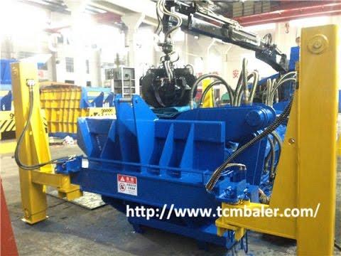 TCM BALER- waste cars baling press baler Malawi  Peru  USA