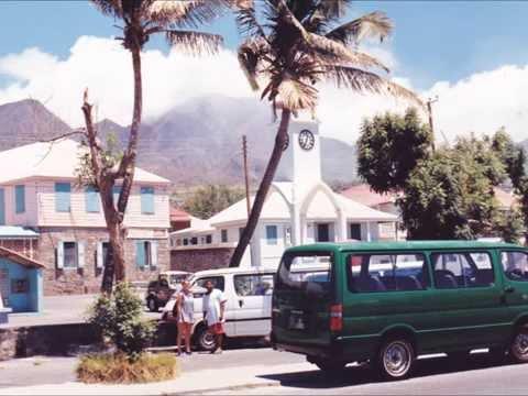 Montserrat Island New Art&Postcards&Photos- Message to all friends of Montserrat/ B.W.I.