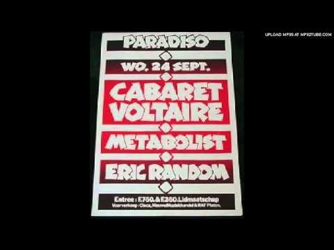Cabaret Voltaire - Seconds Too Late [Amsterdam Paradiso 24.09.80 VPRO Radio]