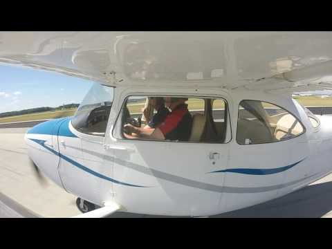 Michael Taylor's First Flight in a Cessna