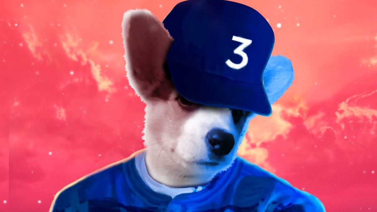 Coloring Book Chance The R Er Background : Photoshop Fun Chance The Rapper Colouring Book YouTube