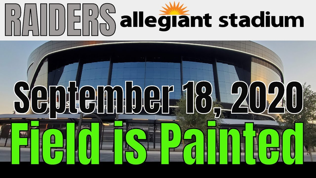 Las Vegas Raiders Allegiant Stadium Update 09 18 2020